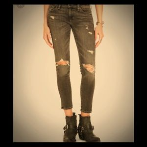 Denim and Supply Distressed Skinny Jeans